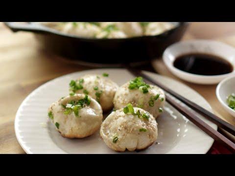 Shanghai Sheng Jian Bao - Pan Fried Pork Buns - 上海生煎包-生煎馒头