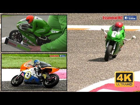 Super Quick RC *NITRO* BIKE / MOTORCYCLE MOTO-GP Racing [*UltraHD and 4K*]