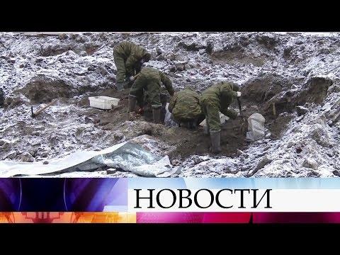 , title : 'В Бресте при строительстве жилого комплекса обнаружено массовое захоронение времен ВОВ.'
