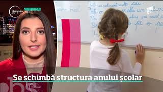 Ministrul Educaţiei Schimbă Structura Anului şcolar!