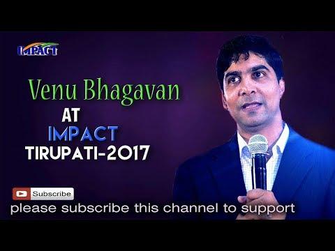Leadership Levels | Venu Bhagawan | TELUGU IMPACT Tirupati 2017