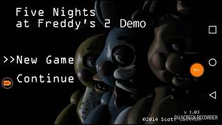 Five Nights At Freddys 2(Pt1)