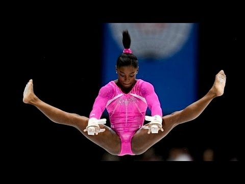 At 22, Simone Biles Is the Greatest Gymnast of All Time