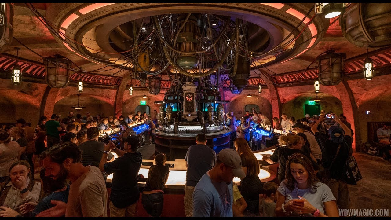 Oga's Cantina at Disney's Hollywood Studios tour