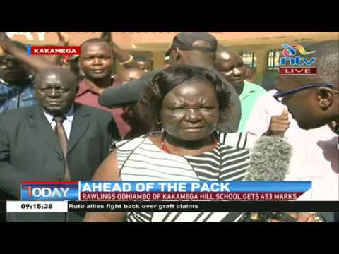 Celebrations in Kakamega on a high note following the release of KCPE results