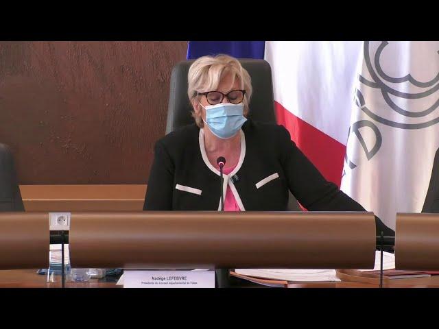 Séance publique de l'Assemblée départementale du jeudi 12 novembre 2020