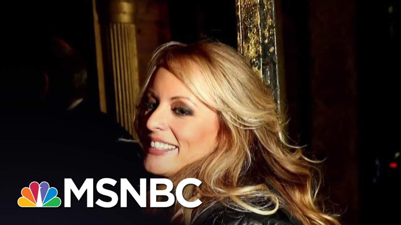 President Donald Trump Makes First Public Comments On Stormy Daniels | All In | MSNBC thumbnail