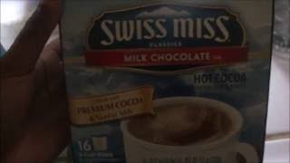 Foodie: Swiss Miss Milk Chocolate Hot Cocoa | Keurig | Taste Test| Product Review