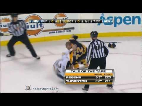 Shawn Thornton vs. Robyn Regehr