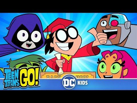 Teen Titans Go!   Back To School!   DC Kids