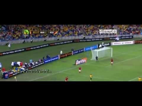 أهداف المغرب 2-2 جنوب افريقيا [27/1/2013] جواد بدة