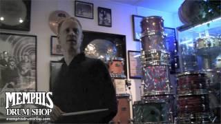 Memphis Drum Shop Tour - Bill Stewart & Paul Francis