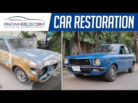 Mazda 808 | Classic Car Restoration | Owner's Review | PakWheels
