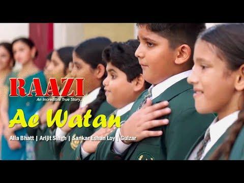 Download Ae Watan  |  Alia Bhatt | Raazi Song | WhatsApp Status HD Mp4 3GP Video and MP3