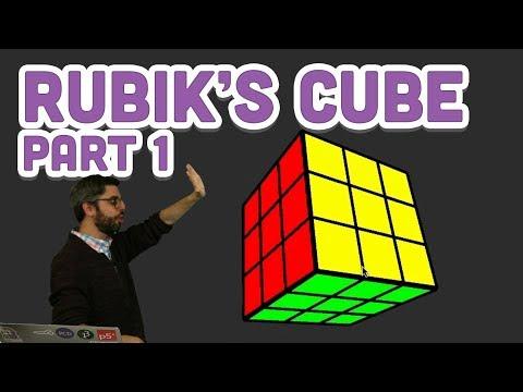 Coding Challenge #142.1: Rubik's Cube Part 1