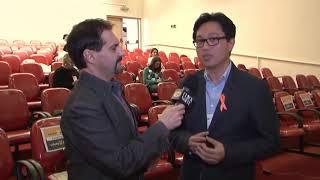 Entrevista com Dr.Alexandre Fuzimoto durante sua palestra no 1o Simpósio de Esclerose Múltipla do AB