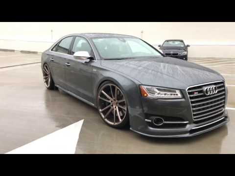 2015 Audi S8 Modified with first Hamana kit in the USA & Vossen Forged Wheels (4K)