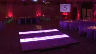 preview picture of video 'pista de baile luminosa - piso de led'
