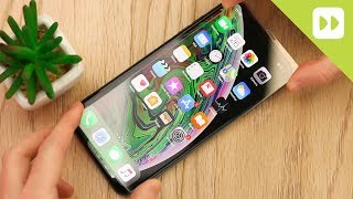 Olixar iPhone XS Max Case Compatible Tempered Glass Screen Protector Installation Guide & Review