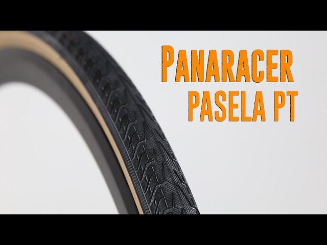 Видео Покрышка Panaracer Pasela ProTite 700x35C Wire Black/Amber