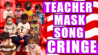 A Teacher Sings a Mask Song with Her Class of Young Students TOTAL CRINGE