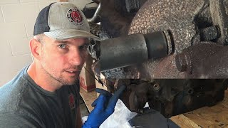 Old Mechanic Taught Me This Trick To Removing Rusty Exhaust Manifold Bolts!