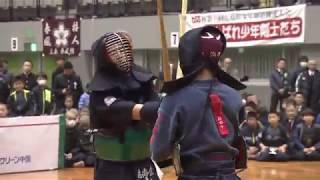 一本に懸ける!~TSS杯第49回広島県少年剣道錬成会~中学生決勝