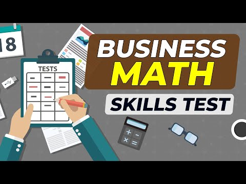 How to Succeed on Business Math Skills Hiring Test
