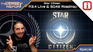 Star Citizen A3.4  LIVE und SQ42 Roadmap release | Verse Report Special [Deutsch/German]