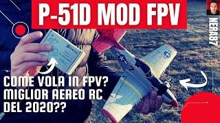 Ho aggiunto una fotocamera FPV al P-51D Mini Mustang | Eachine P51 Mod FPV