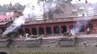 preview picture of video 'Cremation along the Bagmati, Nepal'