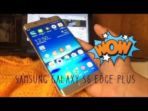 Samsung Galaxy S6 Edge Plus (Gold) 2017