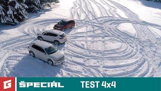 VW TIGUAN - HONDA CR-V - HYUNDAI TUCSON - TEST SUV 4x4 ENG SUB a DUNLOP WS5