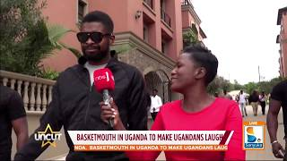 Continental Comedian Basket Mouth in Uganda| Uncut Extra