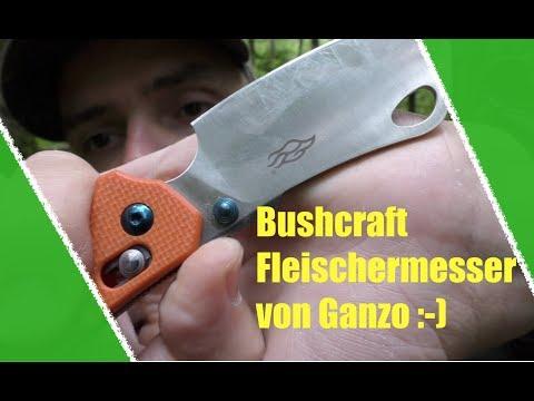 Wie ein Fleischermesser - Das Ganzo F755