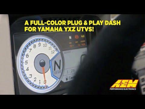 Full Color Programmable Dash for Yamaha YXZ UTVs!