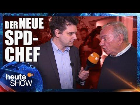 Lutz van der Horst trifft die letzte Hoffnung der SPD | heute-show vom 16.02.2018