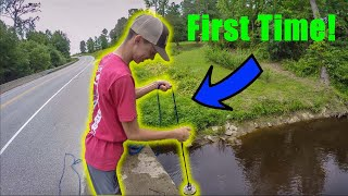 I Took My Friend Magnet Fishing For The First Time And You Won't Believe What We Found!