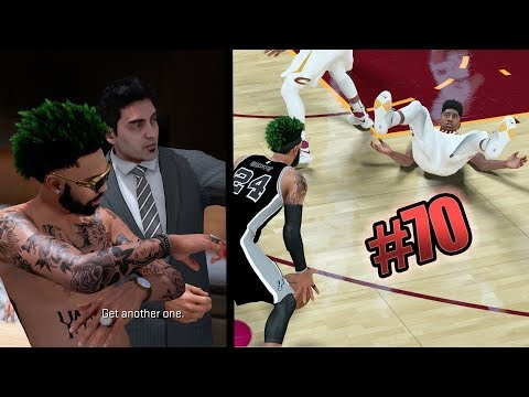 NBA 2k18 MyCAREER - LeBron Dodged My Ankle Breaker! Ronnie2k Pulled Up At MyCOURT! Ep. 70