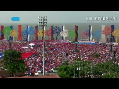Celebración del 39/19 vista desde el aire