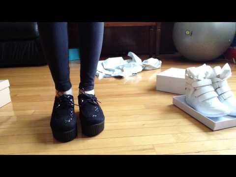 Jess Mail #23: OASAP Shoes Creepers and Sneaker Wedges Product Review Facebook Promotion