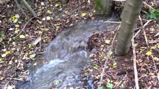 preview picture of video 'Hochwasser - ein kleiner Durchbruch'