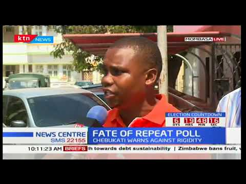 Mombasa residents express disappointment over the rescheduled IEBC meeting