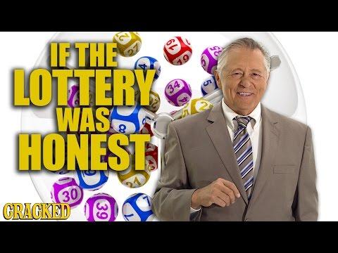 Kdyby byly reklamy na loterii upřímné