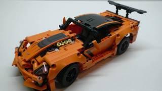Обзор Конструктора LEGO TECHNIC Chevrolet Corvette ZR1 (42093)
