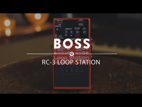BOSS RC 3 Loop Station Kytarový looper