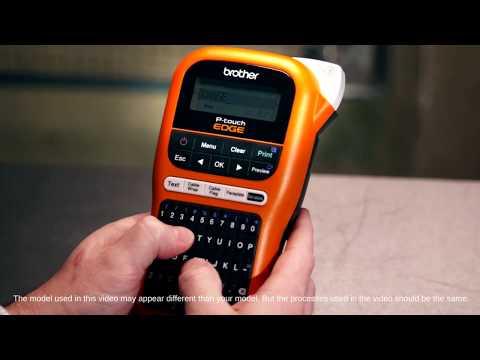 Brother PT-E110VP Industrial Handheld Labeller