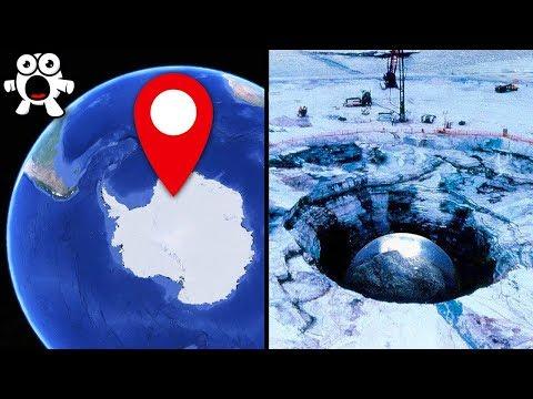 Misteriosos Descubrimientos Hechos En La Antartida
