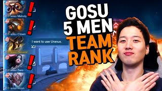 Marksman main Picked Uranus and played Against Top Team?!