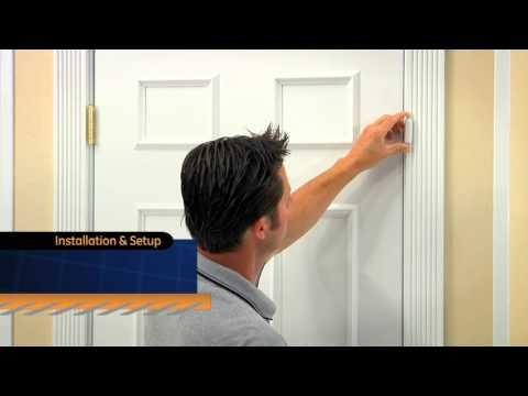 GE Personal Security - Wireless Door Alarm with Programmable Keypad